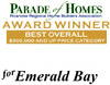 Best Overall Award - Parade of Homes 2007