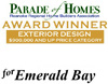Best Exterior Design Award - Parade of Homes 2007