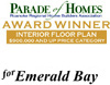 Best Interior Floor Plan Award - Parade of Homes 2007