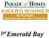 Best Kitchen Award - Parade of Homes 2007