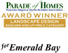 Best Landscape Design Award - Parade of Homes 2007
