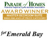 Best Master Bedroom Award - Parade of Homes 2007