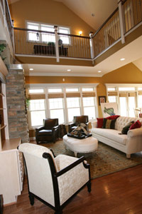 Residential Interior, Smith Mountain Lake